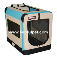 Good quality metal frame cage pet soft crate dog cage