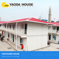 China construction camp manufacturers shipping container prefab luxury container house