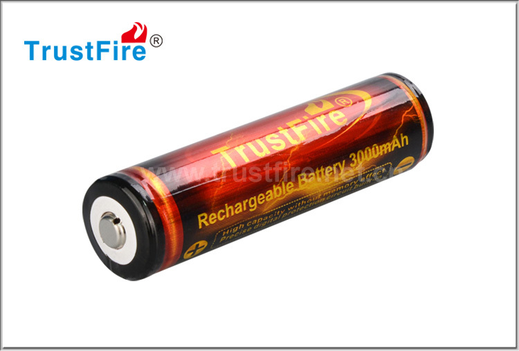 High capacity li-ion battery 18650 3.7-4.2v rechargeable 3000 mAh flexible 18650 battery