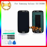 for red samsung s3 9300 Lcd With Touch Digitizer
