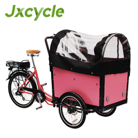 New Electric Bicycles Cargo bike for Carry Kid