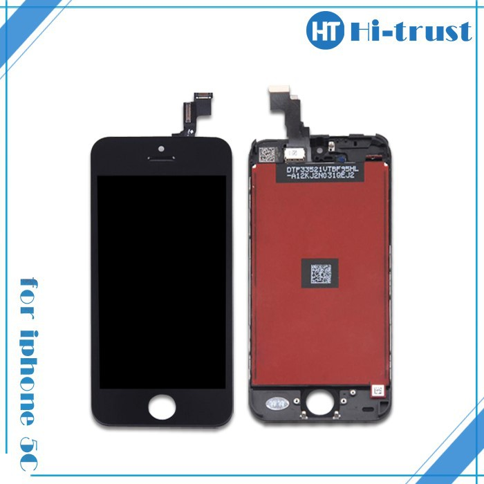 HOT SALE!100% test pass, Free protector recycle broken lcd screen for iphone 5C