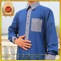 Albai popular islamic men's thobe and abaya,muslim clothing with high quanlity