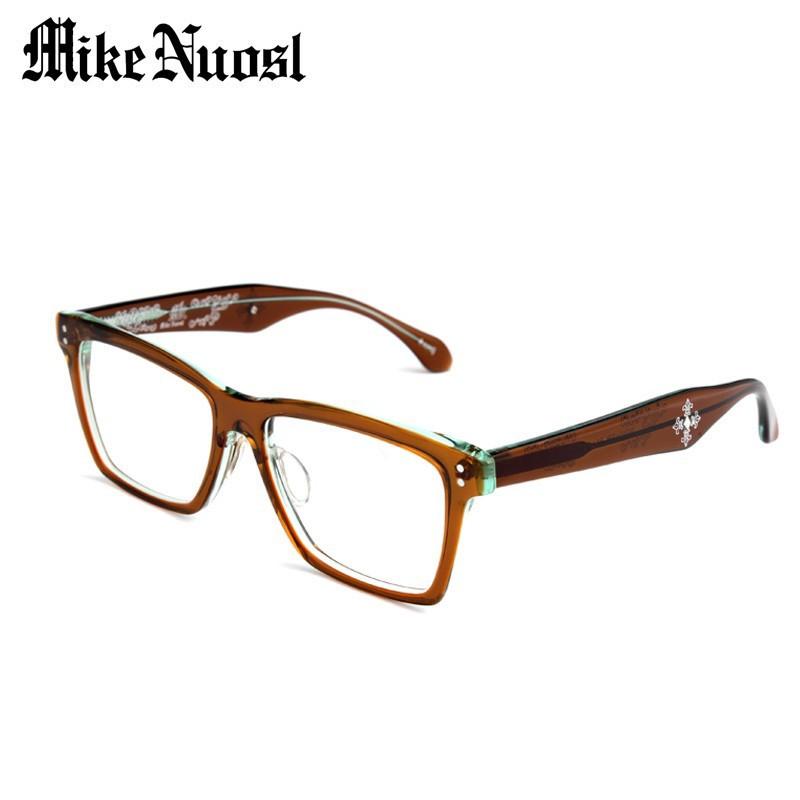 Acetate Eyeglasses Frame : Mikenuosl Unisex Handmade Acetate Eyewear Optical Frame ...