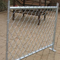 Removable chain link fence/china manufacturer removable chain link fence/lowest price removable chain link fence