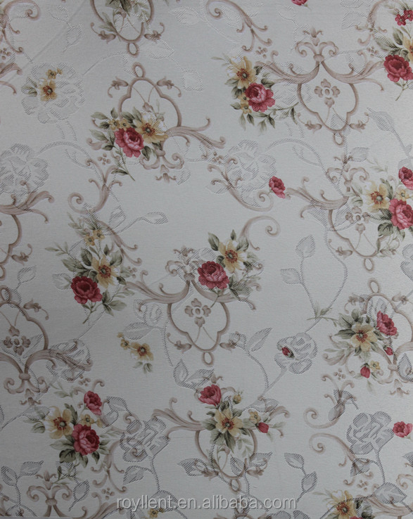 New design country style wall fabric/wall coating