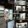 Trade show with trade show booth lighting 3m standard stand 10'x10' in Shanghai Detian Display
