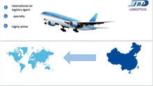 Air freight forwarder door to door delivery service from China to New York USA