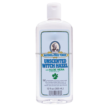 Natural Herbal Aloe vera Alcohol-Free skin Toner with Witch Hazel