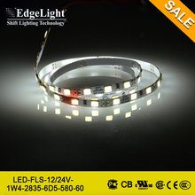 Edgelight 2835 led light strip for light box & light panel with high quality low price