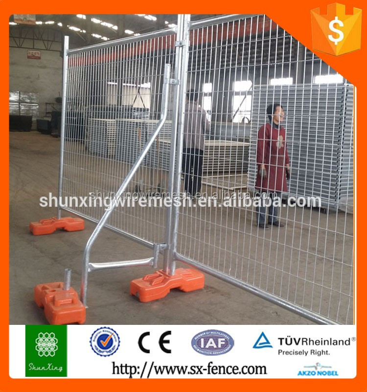 2016 hot sale SX 32mm frame pipe temporary fence