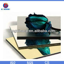 Light weight mirror aluminium composite panel for curtain wall decorative cladding