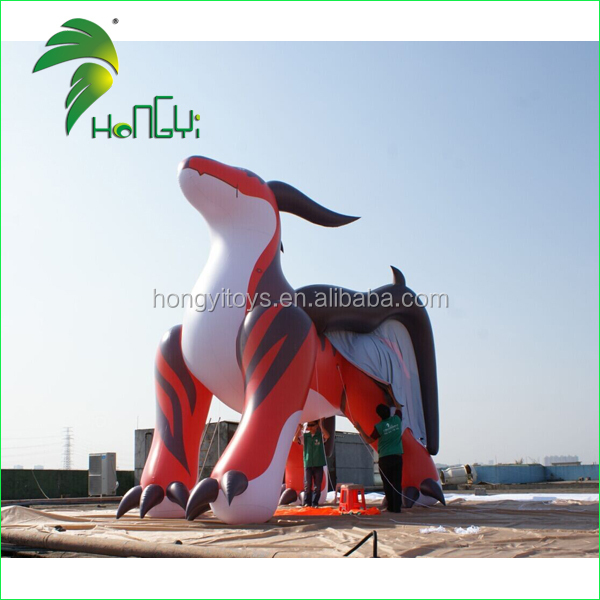 5M Long Haughty Red Dragon