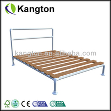 OEM customized timber bed frame cheap bunk bed frames