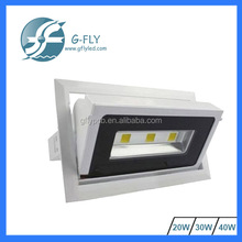 rectangular led downlight 20w 30W 40W