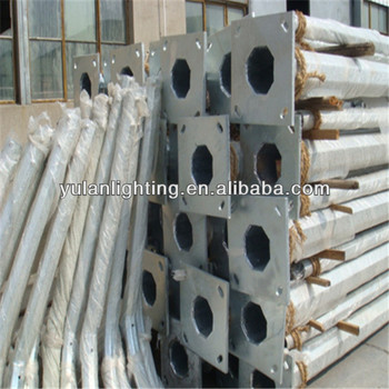 street lighting pole and lamp fittings manufactory in china