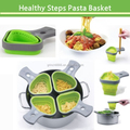 FOLDABLE PASTA BASKET