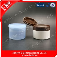 Flip top cap plastic jar,cheap plastic jars, flip top bottles and jars