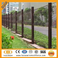 China made best quality powder coating metal welded decorative fence