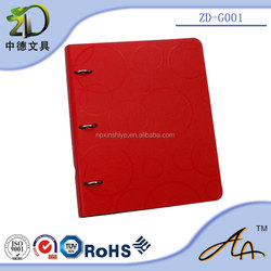 ZhongDe Patented Product Stainless Steel 303 3-D Ring Clip AL-alloy watertight Lever Arch File Document Folder
