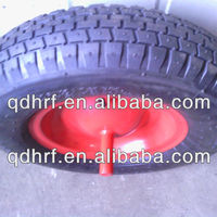 Rubber Pneumatic Wheel 4 00 8