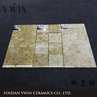 Golden Design Glossy Mirror Glazed Wall Tiles 300x600