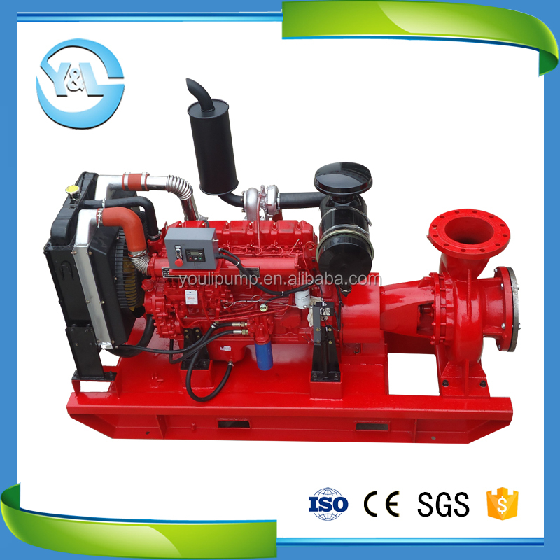 300hp high temperature diesel engine hot oil pump