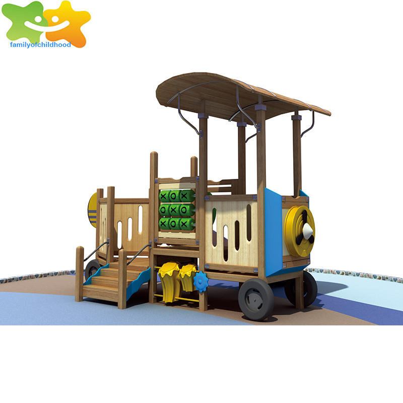 mini children play station children wooden playground equipment