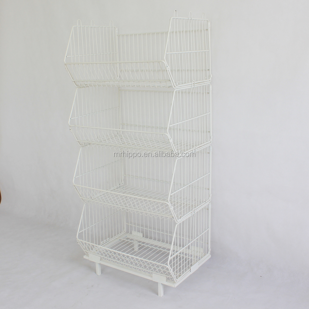 4-tier Metal Food Display Racks, 4-tier Metal Food Display Racks ...