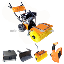 6.5hp Snow Sweeper Brush,Manual Sweeper
