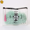 Sinicline custom clear zip lock bag printed with tassel for swimsuit