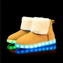 LED Light Up Boots LED Lighting Shoe For Casual Sneaker Hip-hop Dancing Shoes