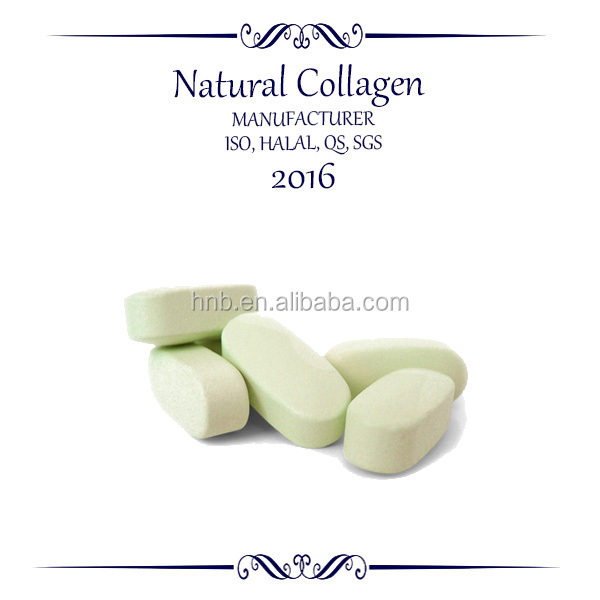 glucosamine and chondroitin vitamine e collagen tablet with GMP