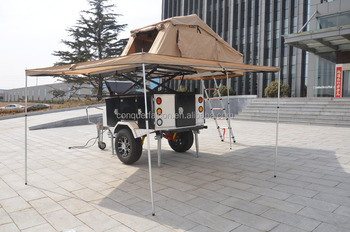 OEM off road camper with camping trailer tents