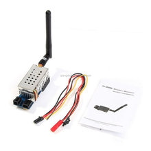 5.8GHz 2000mw 5.8G 2W 8 Channel Wireless Audio Video Transmitter Sender FPV DJI phantom for Gopro hero4 SJ4000
