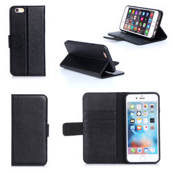 2016 Newtest Luxurious Products Stronger Magnetic Leather Card Slots Mobile Phone Case For iPhone 6S