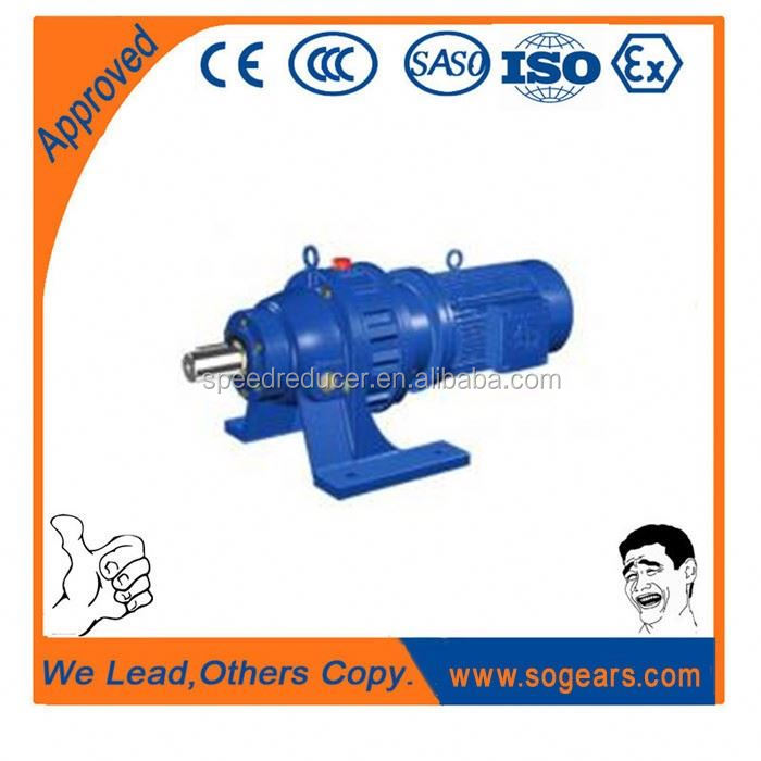 ISO,CE certificated Cycloidal Reducer reducing gear for cement concrete mixers