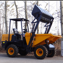 construction building machinery self loading mini site dumper