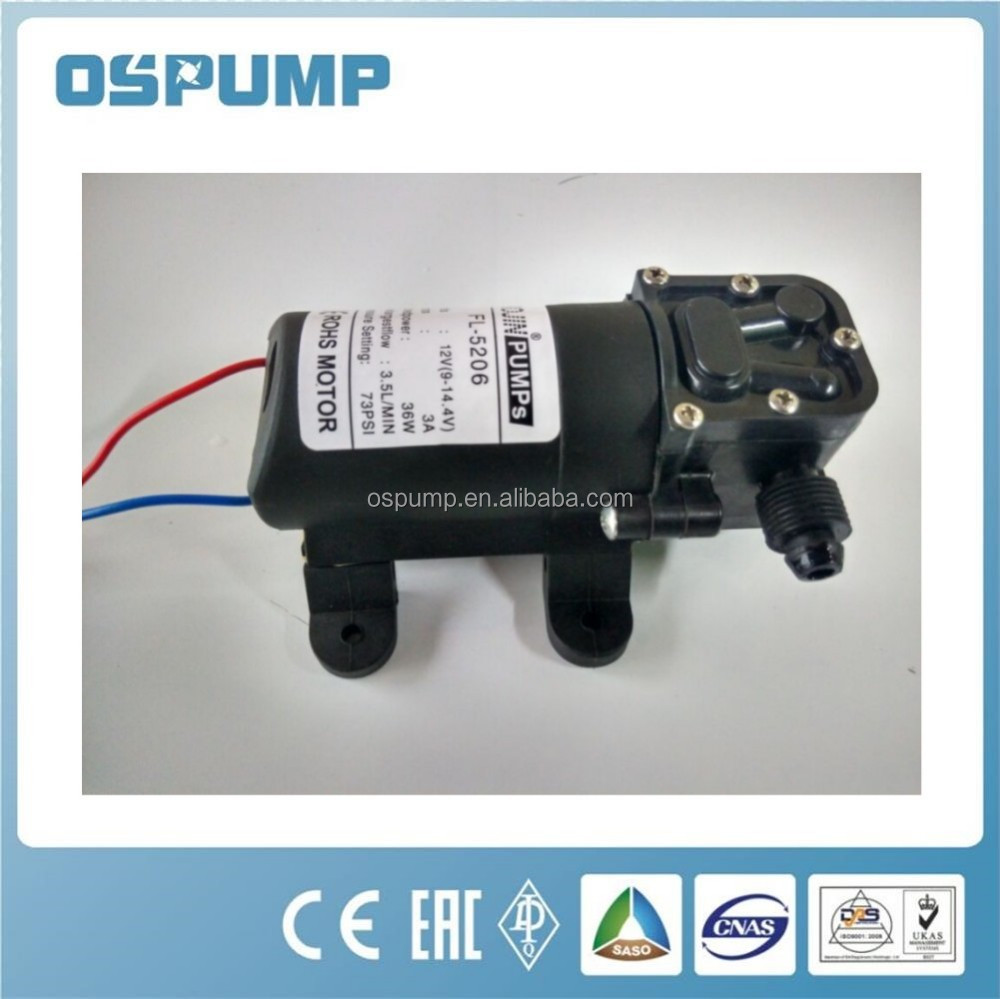 Top quality 12v dc electric motor silent mini diaphragm vacuum pump