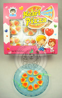 Heart Shape Pizza Gummy Candy