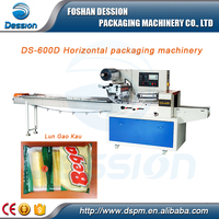 2016 Hot Selling Butterfly Puff Pastry Flow Packing Machine