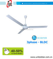 battery powered ceiling fan with BLDC motor inside