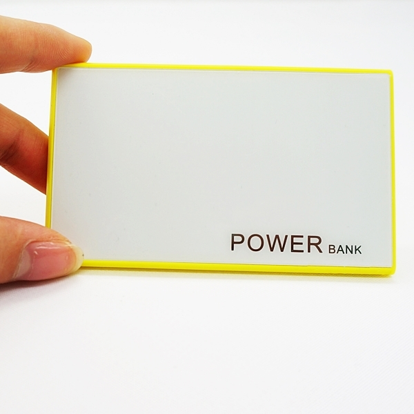 New promotion gift ultra thin credit card power bank charger