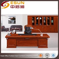 China supplier Luxury furniture large wooden office desk for Africa market
