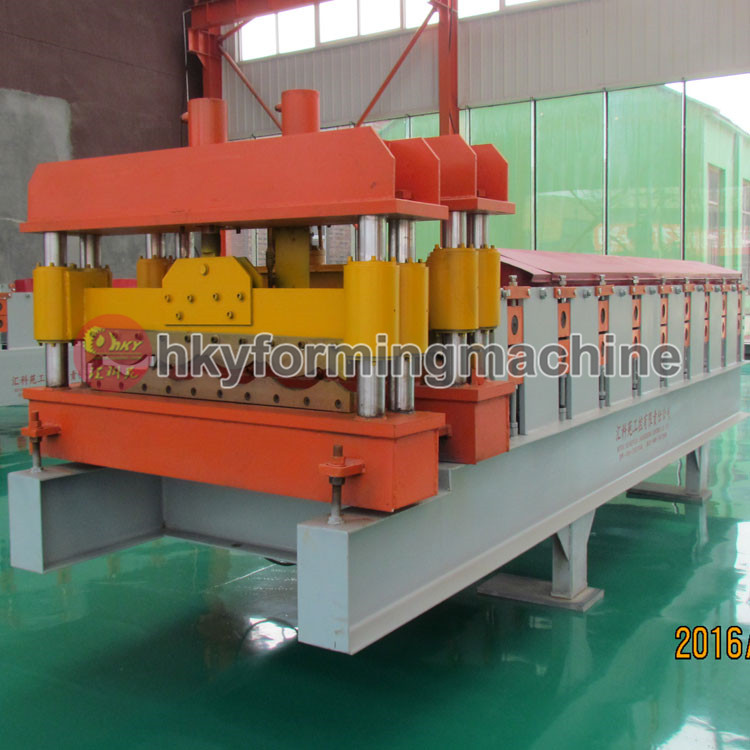 China roofing sheet glazed tile roof tile cold roll forming machine for sale