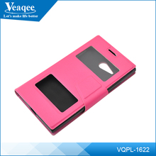 Veaqee newest design Cool PU Leather Universal Mobile Phone Pouch Case for iphone 7