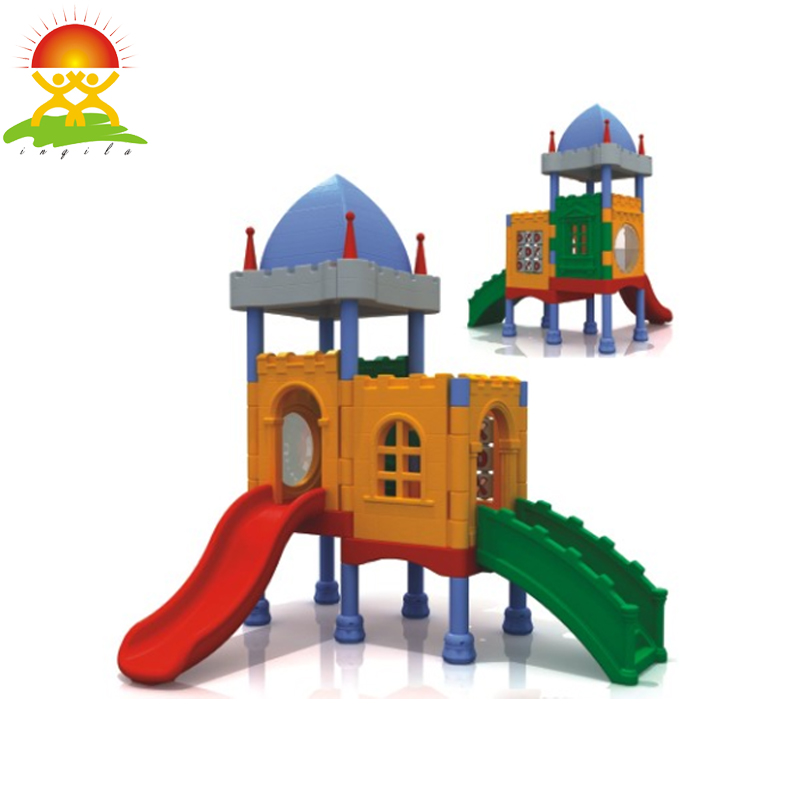 Indoor playground kids plastic slide
