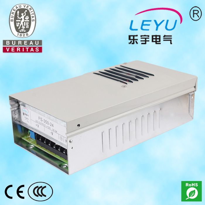 single output 250w 10A led driver constant voltage 24vdc rainproof power supply FS-250-24