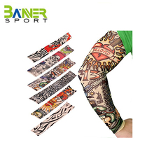 Tattoo Arm Sleeve Cover Cycling Sun Protective Arm Sleeves