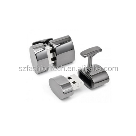 OEM bulk usb flash drive cufflinks